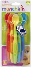 6 Wholesale Soft Tip Infant Spoons 6pk
