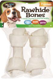 12 of Bwow Rawhide Bones 2pk