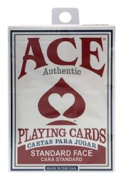 6 Units of Ace Playing Cards - Card Games