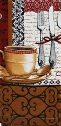 12 Units of Kitchen Towel Coffee Time - Kitchen Tools & Gadgets