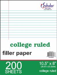 12 Wholesale Filler 10.5''x8'' Cr 200ct