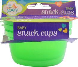 6 Wholesale Bjoey Snack Cups 2pk