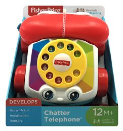 4 Wholesale FisheR-Price Chatter Telephone