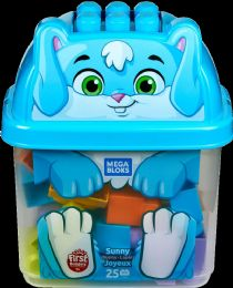 4 Wholesale Mega Bloks Animal Buckets Asst