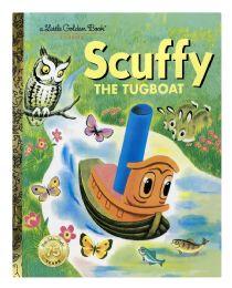 4 Units of A Little Golden Books Classics Scuffy The Tugboat - Books