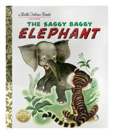 4 Units of A Little Golden Book Classic The Saggy Baggy Elephant - Books