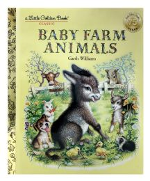 4 Units of A Little Golden Book Classic Baby Farm Animals - Books