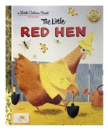 4 Units of A Little Golden Book Classic The Little Red Hen - Books