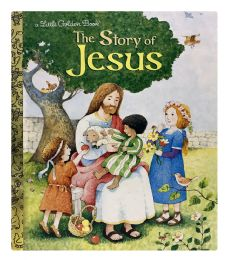 4 Units of A Little Golden Book The Story Of Jesus - Books