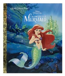 4 Units of A Little Golden Book Disney Princess The Little Mermaid - Books