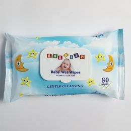 24 Units of Baby Wipes 80ct Blue - Personal Care Items