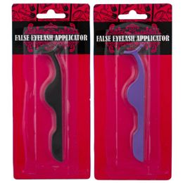 36 Units of False Eyelash Applicator 2ast Color Metal Hba/blister - Assorted Cosmetics