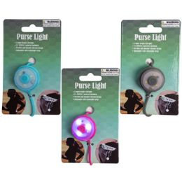 48 Wholesale Purse Light Silicone Led 2functn