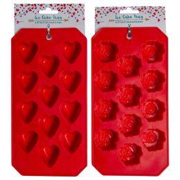 36 Units of Ice Cube Tray Valentine 2ast - Freezer Items