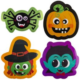 96 Units of Placemat Halloween Pp Plastic 4ast Icons/hlwn Upc Label - Placemats