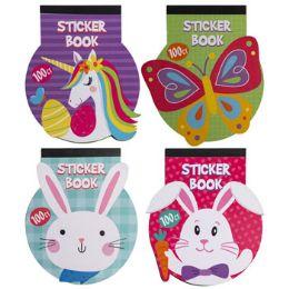 48 Wholesale Sticker Easter Book 4asst 8pg