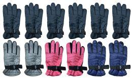 48 Units of Yacht & Smith Kids Thermal Sport Winter Warm Ski Gloves - Kids Winter Gloves