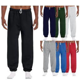 72 of Men's Gildan Sweatpants Assorted Sizes And Colors