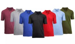 108 of Gildan Mens Assorted Color And Sizes Irregular Polo Golf Shirts