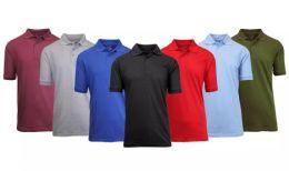 180 of Gildan Mens Assorted Color And Sizes Irregular Polo Golf Shirts