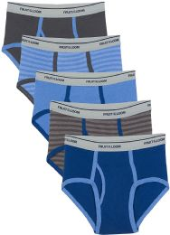 504 Units of Boys Cotton Assorted Color And Sizes Briefs - Sizes S-XL Assorted - Boys Underwear
