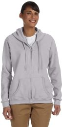 144 Units of Gildan Womens Zipper Hoodie Assorted Colors And Sizes. - Womens Charity Clothing for The Homeless