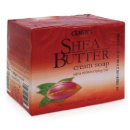 24 Bulk Dalan Shea Butter Cream Soap Bar
