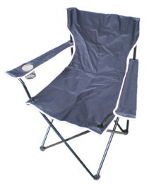 6 Units of Camping Chair 20 X 20 X 33 Inch Black - Camping Gear