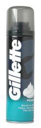6 Units of Gillette Shaving Foam 200 Ml Sensitive - Personal Care Items