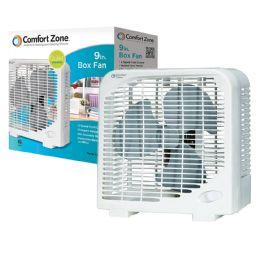 6 of Comfort Zone Fan 9 Inch 2 Speed Box Fan Etl Approved