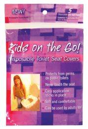 24 Units of Toilet Seat Cover 5 Pack Disposable - Bathroom Accessories