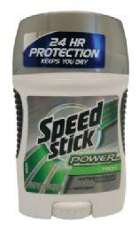 12 Units of Speed Stick Power Deodorant 1.8 Oz Fresh Scent - Deodorant