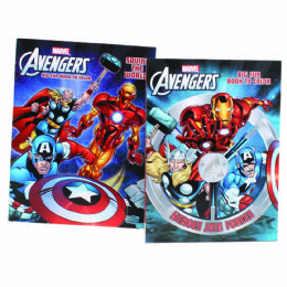 72 Units of Avengers Big Fun Book To Color - Coloring & Activity Books