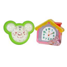 6 Wholesale Clock Kittens And Bear Children
