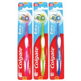 72 Units of Colgate Toothbrush Xtr Clean Soft - Toothbrushes and Toothpaste