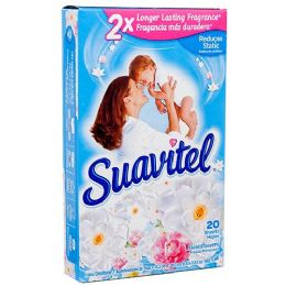 15 of Suavitel Dryer Sheets 20ct Field Of Flowers