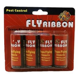 48 Units of Fly Ribbon 4pk Bugandfly Catcher - Sporting and Outdoors