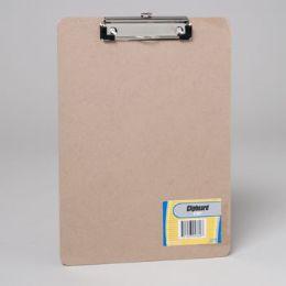 24 Wholesale Clipboard 9x12 Chipboard