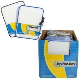 36 Bulk Dry Erase Board Magnetic 6x8 W/marker 2ast Color Frame 36pdq