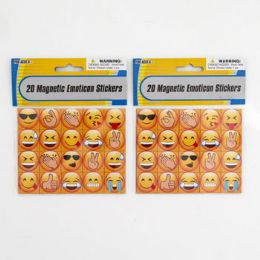 48 Units of Stickers Emoticon 24pc Magnetic Pbh Then On 12pc Merch Strip - Stickers