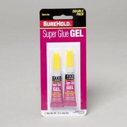 72 Units of Super Glue Gel 2pk 0.14oz - Glue