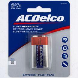 48 Units of Batteries 9 Volt 1pk Heavy Duty - Electronics