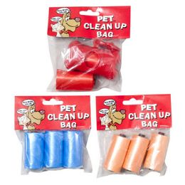 48 Wholesale Doggy CleaN-Up Bags 2 Strips