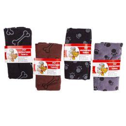 36 Wholesale Microfiber Pet Towel 27 X 18