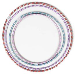 60 Units of Fun Hoops Laser Striped 4ast Szs 20/22/26/28in Case Cut Carton - Toys & Games