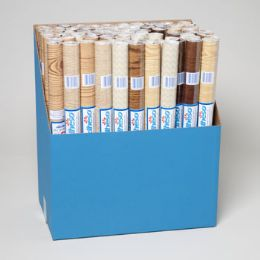 72 Units of Shelf Liner Adheso - Wood Grains 18in X 1.5yd Display - Kitchen Tools & Gadgets