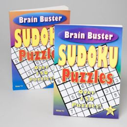 24 Units of Sudoku Puzzle Book 2 Assorted Volume Puzzles - Puzzles