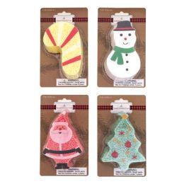 36 Units of Modeling Foam Beaded Paste 4ast Christmas Shaped Molds 7g/pc - Christmas