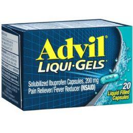 12 Bulk Advil Liqui Gel Caps 12/20's