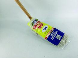 12 Wholesale Cotton Mop 15 Oz Wooden Handle
